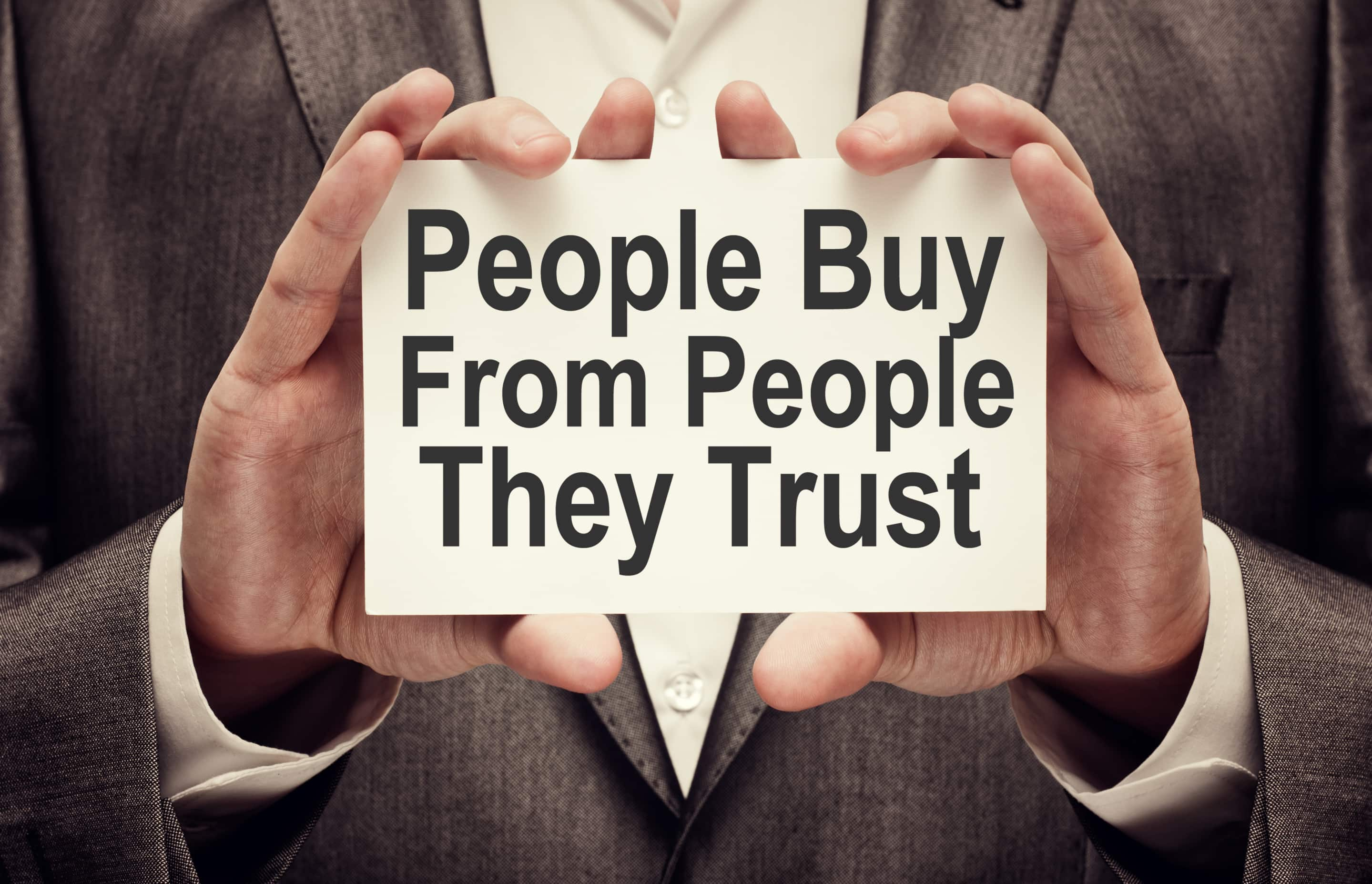 people-buy-from-people-they-trust